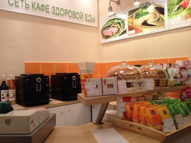 На Арбате открылось кафе Healthy Food. Изображение № 3.