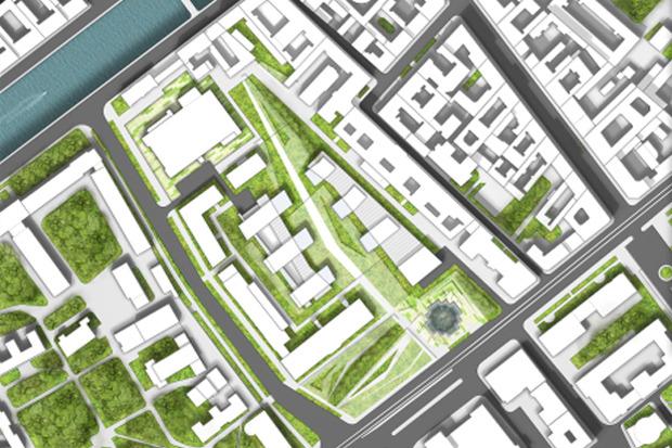 10 проектов квартала около Витебского вокзала . Изображение № 12.