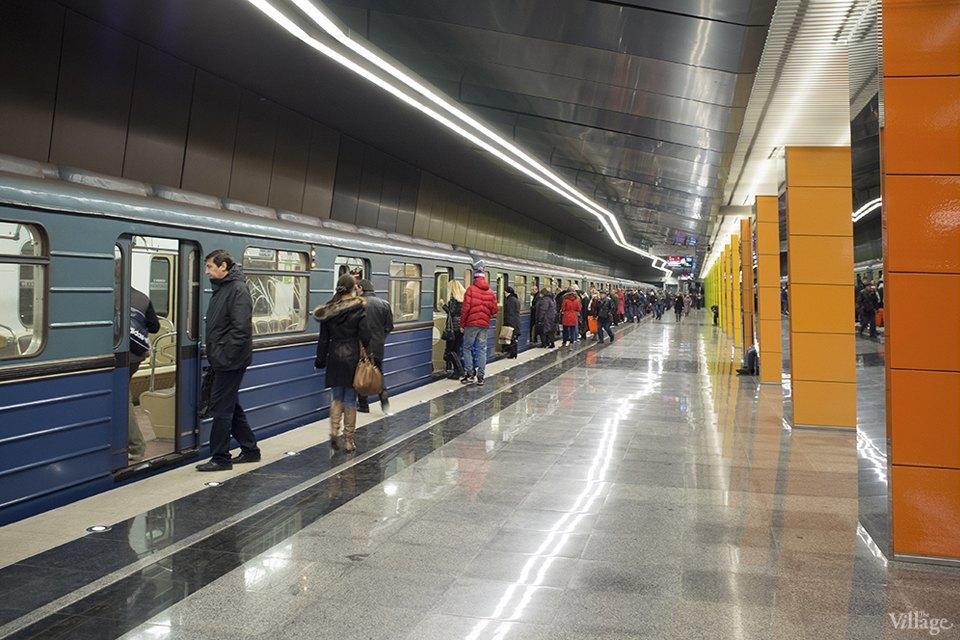 Фоторепортаж: Час пик на станции «Выхино». Изображение № 6.