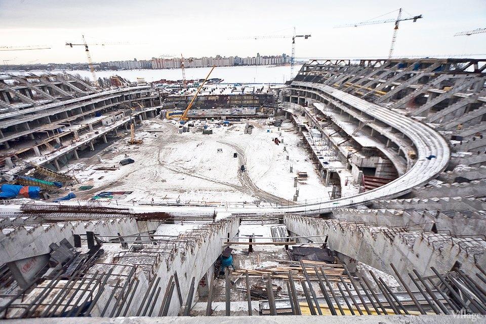 Фоторепортаж: Стадион «Зенит-Арена» изнутри. Изображение № 6.