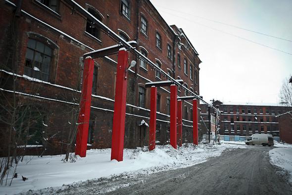 Группа «Фабрика»: Гид по арт–пространствам Обводного канала. Изображение № 118.