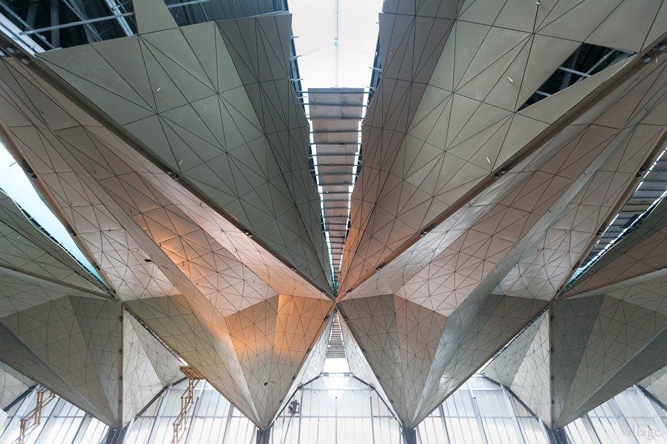 Фоторепортаж: Новый аэропорт изнутри. Изображение № 4.