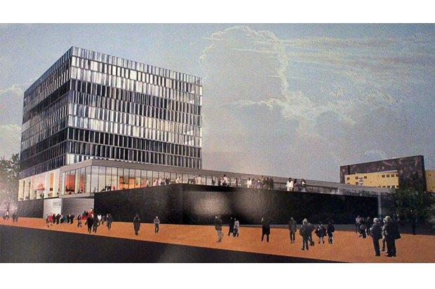 Фондохранилище Эрмитажа построят по проекту Рема Колхаса. Изображение № 2.
