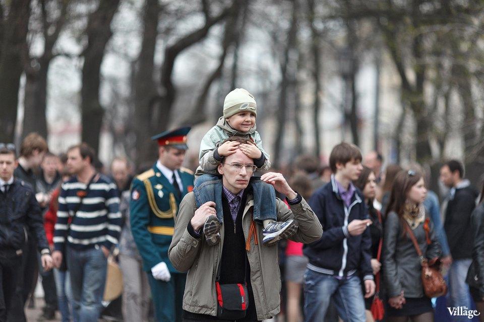 Фоторепортаж: День Победы в Петербурге. Изображение № 2.