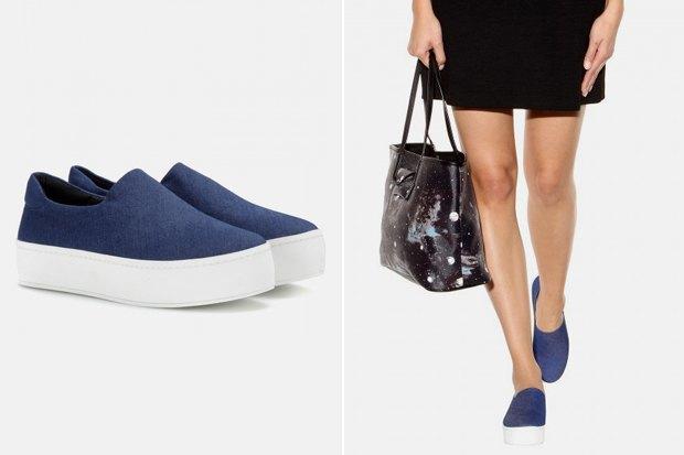 Деним: женская одежда, обувь иаксессуары. Изображение № 9.