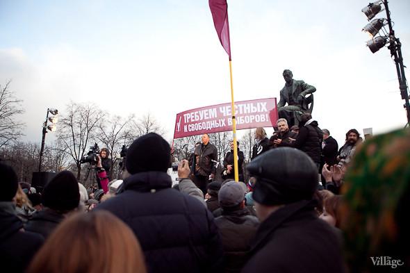 Фоторепортаж: Митинг против фальсификации выборов в Петербурге. Изображение № 20.