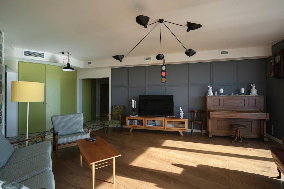 Просторная квартира для семьи. Изображение № 2.