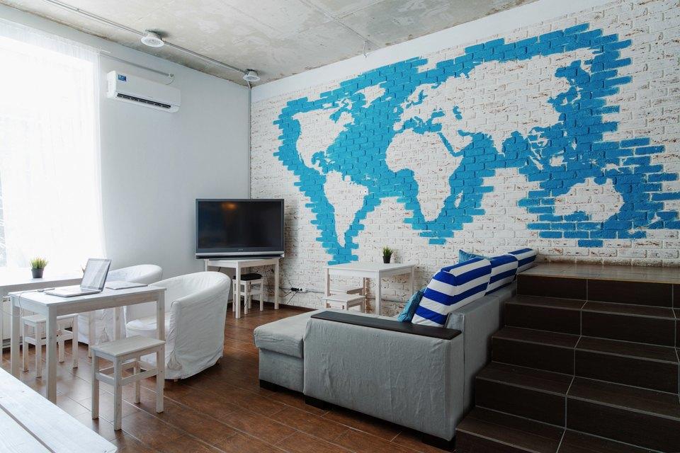Хостел на«Белорусской» сномерами-каютами идвухэтажной двуспальной кроватью. Изображение № 7.