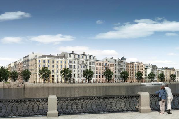 Суд идёт: четыре проекта квартала на месте «Набережной Европы». Изображение № 30.