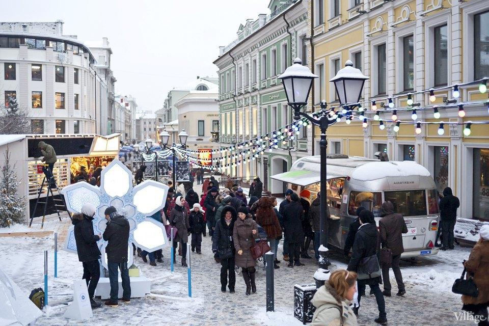 Фоторепортаж: Новогодние ярмарки в центре Москвы. Изображение № 30.