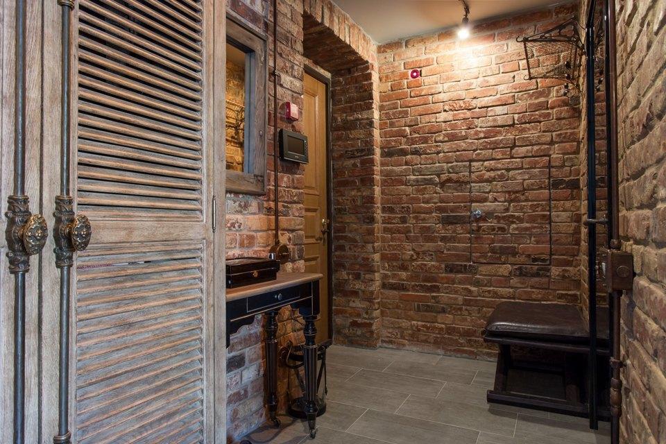Лофт со стеклянной ванной комнатой на«Парке культуры» . Изображение № 29.