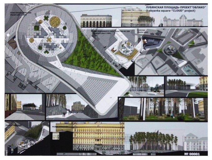 Началось голосование за эскиз фонтана наЛубянской площади. Изображение № 4.