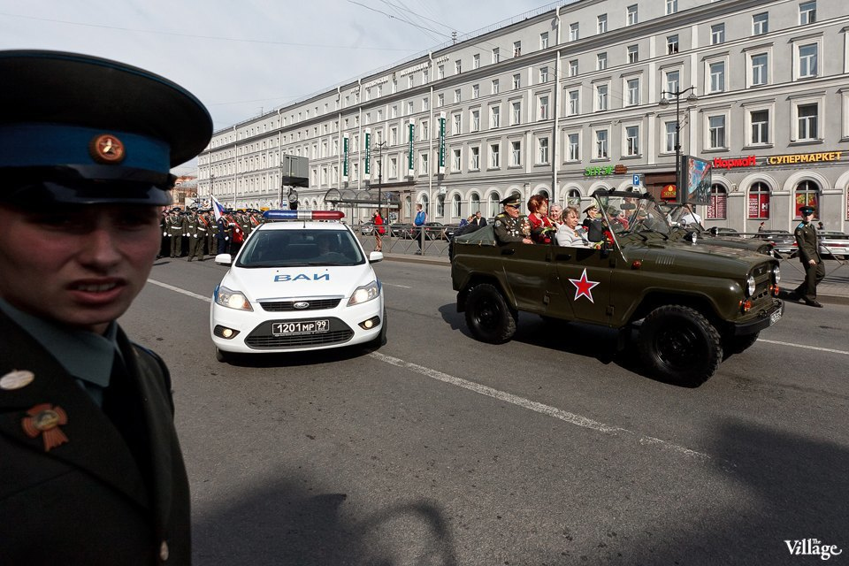 Фоторепортаж: День Победы в Петербурге. Изображение № 33.