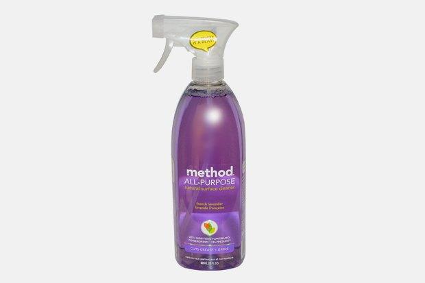 Натуральное средство для чистки любых поверхностей с ароматом лаванды Method, 230 рублей. Изображение № 13.