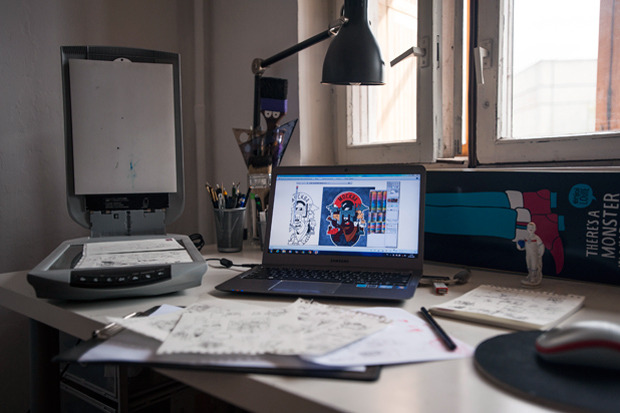 Герб Москвы: Версия граффити-художника Nootk. Изображение № 27.