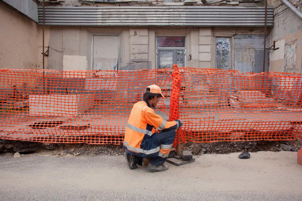Её раскопали: Пешеходные улицы Москвы за месяц до открытия. Изображение № 27.