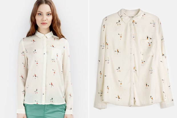 Где купить женскую рубашку: 6вариантов от 2500 до 7900рублей. Изображение № 5.