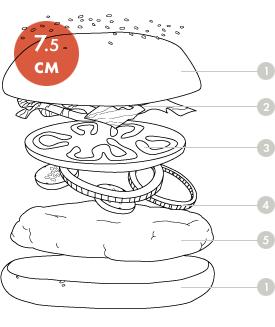 Между булок: Внутренности 20 московских бургеров. Изображение № 9.