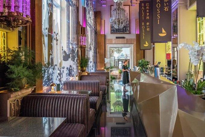 В высотке на Кудринской площади открылся ресторан Balzi Rossi. Изображение № 1.