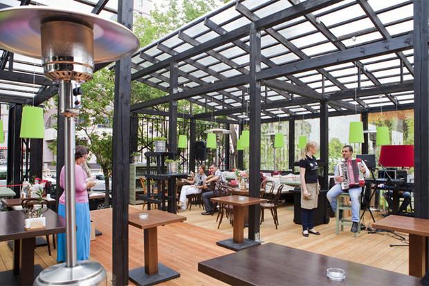На «Павелецкой» открылость кафе «Хачапури». Изображение № 5.