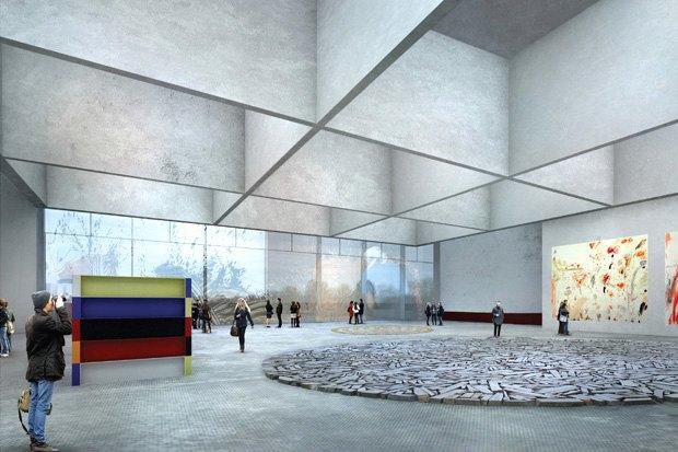 Три проекта нового здания ГЦСИ. Изображение № 15.