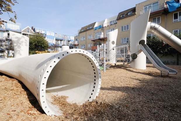 Идеи для города: Детская площадка из крыльев ветряной мельницы вРоттердаме. Изображение № 5.