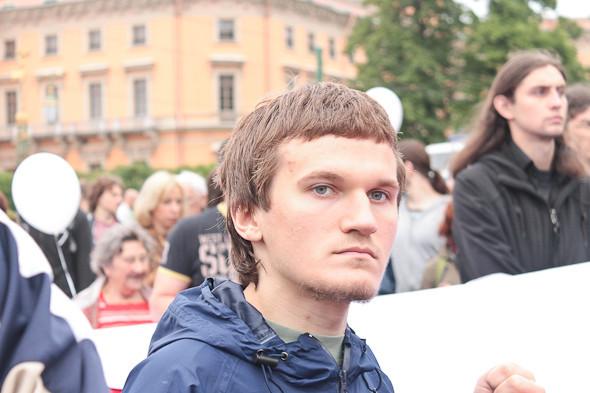 Фоторепортаж (Петербург): Митинг и шествие оппозиции в День России . Изображение № 5.