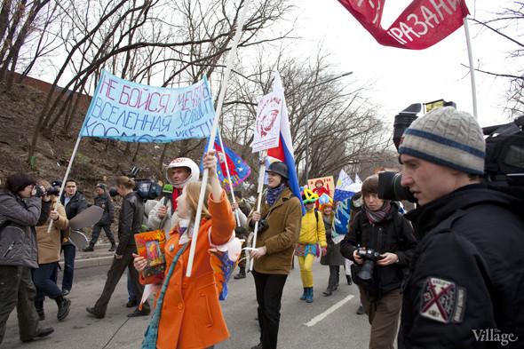 В Москве прошло арт-шествие в честь Дня космонавтики. Изображение № 26.