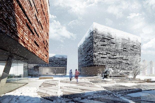 Три проекта нового здания ГЦСИ. Изображение № 8.