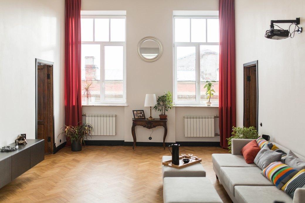 Светлая квартира с гостиной-кинотеатром наплощади Труда (Петербург). Изображение № 7.