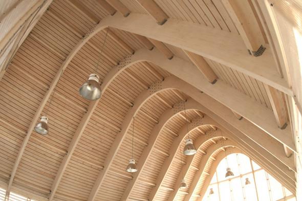 Деревянная архитектура: Летний «Пионер», офис ВТБ и шахматный клуб в Нескучном саду. Изображение № 28.