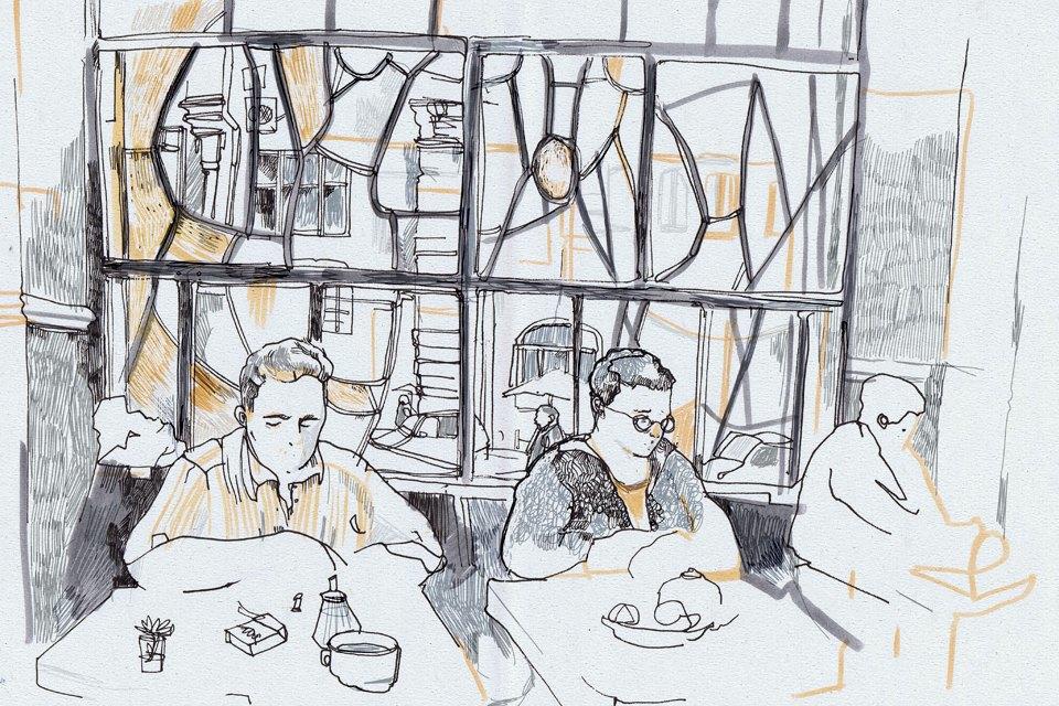 Клуб рисовальщиков: Бар «Пропаганда». Изображение № 6.