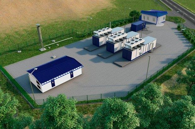 Проект станции дегазации Ecotech в Белоруссии. Изображение № 1.
