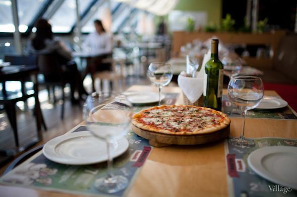 Пицца с ветчиной и грибами — 350 рублей