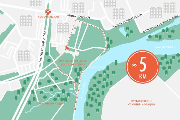 Пять маршрутов для пробежек. Изображение № 8.