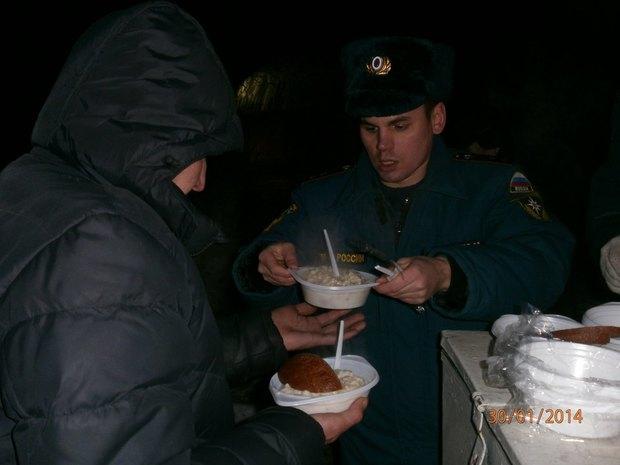 МЧС открывает пункты горячего питания для бездомных. Изображение № 2.