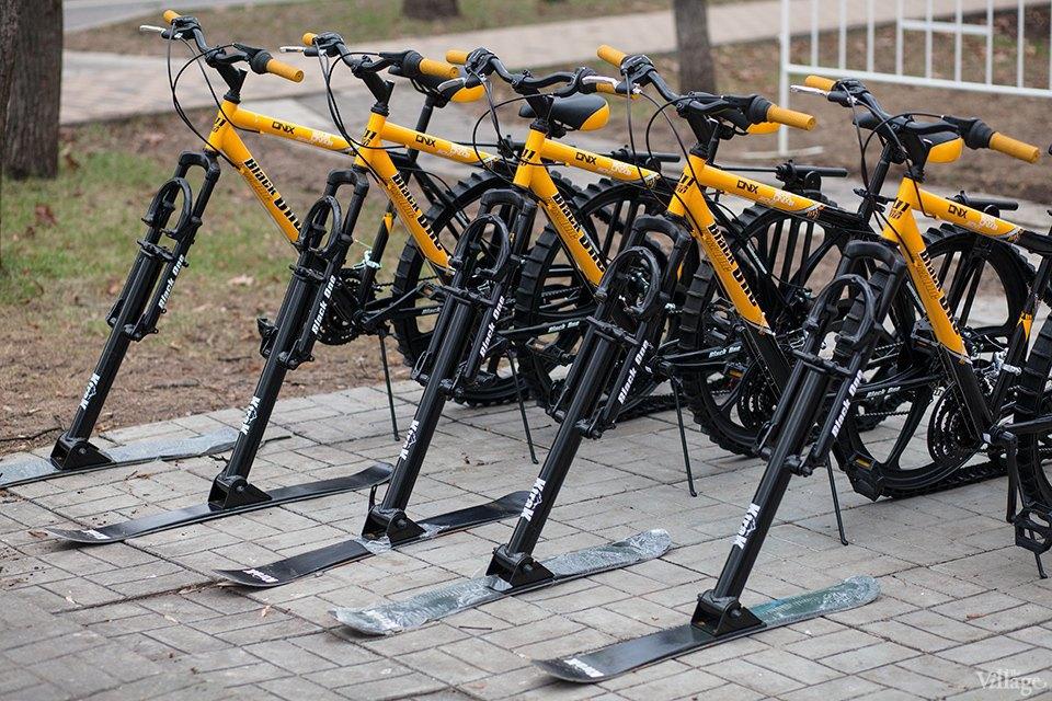 Фоторепортаж: Зимние велосипеды в «Сокольниках». Изображение № 3.