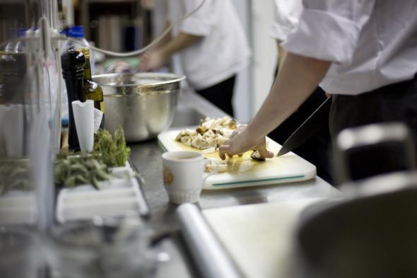 Изображение 8. Фоторепортаж с кухни: Ресторан «Бонтемпи».. Изображение № 19.