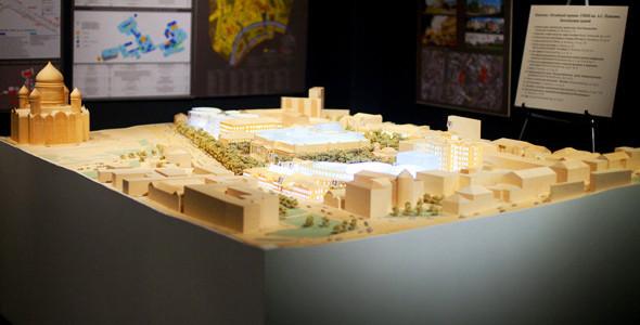 Пушкинский музей: Проект реконструкции. Изображение № 6.