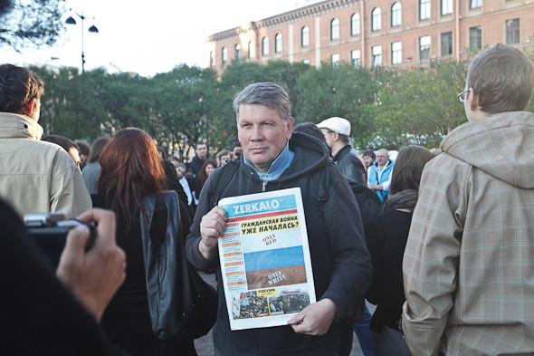 Люди в городе: Чего хотят митингующие на Исаакиевской . Изображение № 5.
