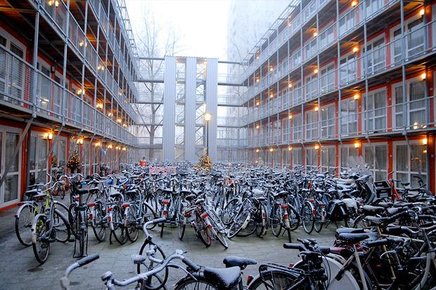 Студенческие общежития из контейнеров в Голландии. Изображение № 6.