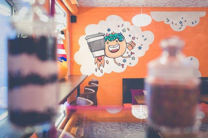 НаГороховой открылась кофейня «Пончкофф» . Изображение № 2.