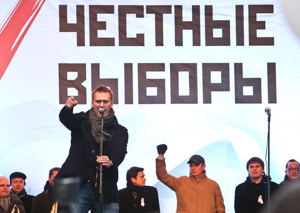 Митинг «За честные выборы» на проспекте Сахарова: Фоторепортаж, пожелания москвичей и соцопрос. Изображение № 49.