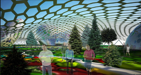 Москомархитектура выбрала 118 проектов парка в Зарядье. Изображение № 4.