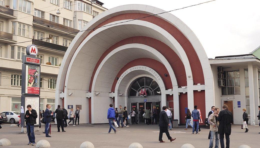 Станция метро «Красные ворота». Изображение № 47.