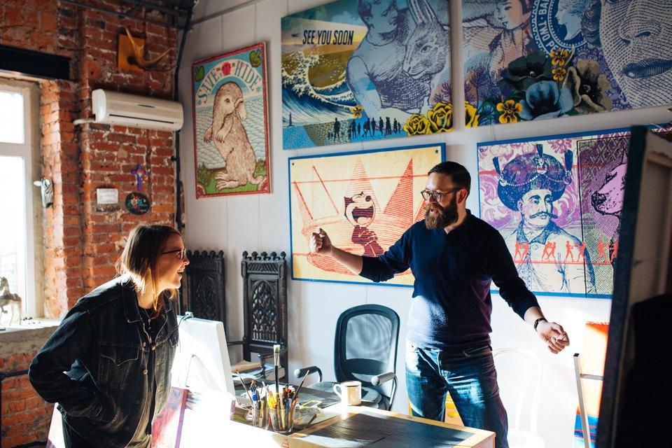 Как дизайнеры стали делать плакаты для дома. Изображение № 7.