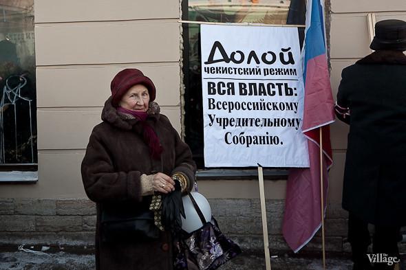 Фоторепортаж: Шествие за честные выборы в Петербурге. Изображение № 51.