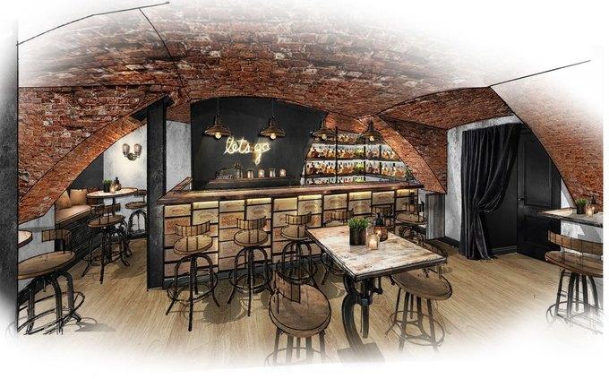 На набережной Мойки появится секретный бар Moonshine . Изображение № 1.