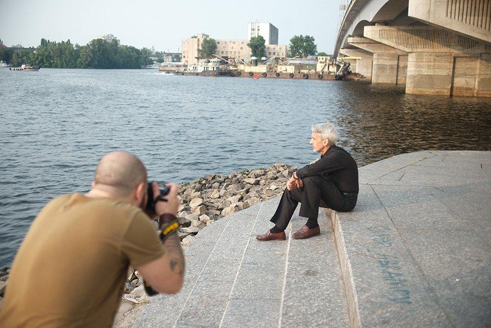 Портретная съёмка на Арт-причале. Изображение № 17.