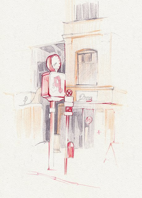 Мастер-класс городского наброска в Берлине. Изображение № 16.